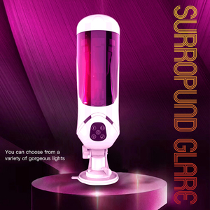 Full Automatic Piston Telescopic Rotation Male Masturbator Cup Adult Sex Toys Real Vagina Sucking Vibrator Handsfree Sex Machine
