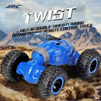 JJRC Q70 RC Car Radio Control 2.4GHz 4WD Twist- Desert Car RC Off Road Buggy High Speed Climbing Kids Children Toys Twister Car