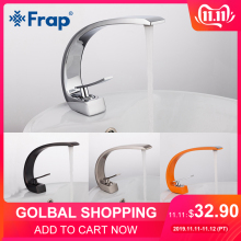 Frap Faucet Brass Tap-Vanity Mixer Bath-Basin Nickel-Sink Chrome Cold-Water Hot New Y10004/5/6/7