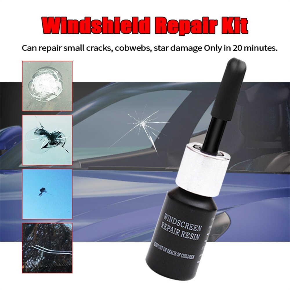 زجاج سيارة طقم تصليح نافذة الشاشة استعادة أداة سيارة الزجاج إصلاح الراتنج مجموعة ماجيك الزجاج الأمامي الكراك لاصق