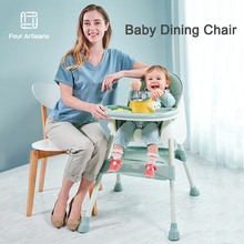 Multi-Functional Baby Feeding Chair And Table Can be Disassembled 2-in-1 Multi-Use Children's Dining Chair Baby Toddler Seat