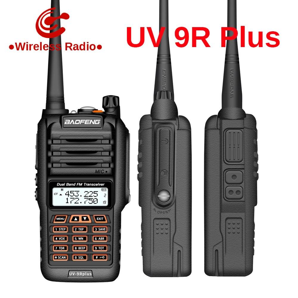 Baofeng UV-9R Plus 25KM Ip67 Waterproof Walkie Talkie Two Way Radio Baofeng Uv 9r Plus Vhf Uhf Ham Radio Long Range CB Radio