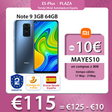 Smartphone, Redmi Note 9, 64 go, 48mp, 6.53