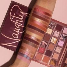 18 colori melograno semi Palette di ombretti lucentezza lucida ombretto opaco impermeabile cosmetico bellezza trucco TSLM2