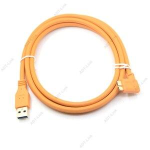 Image 5 - Mikro B USB 3.0 kablo USB kamera mikro B açılı kablo 3 m/5 m/8 m/ 10m Canon 5d4 1DX2 5DS 5DSR Nikon D5 D800 D810A/E D850