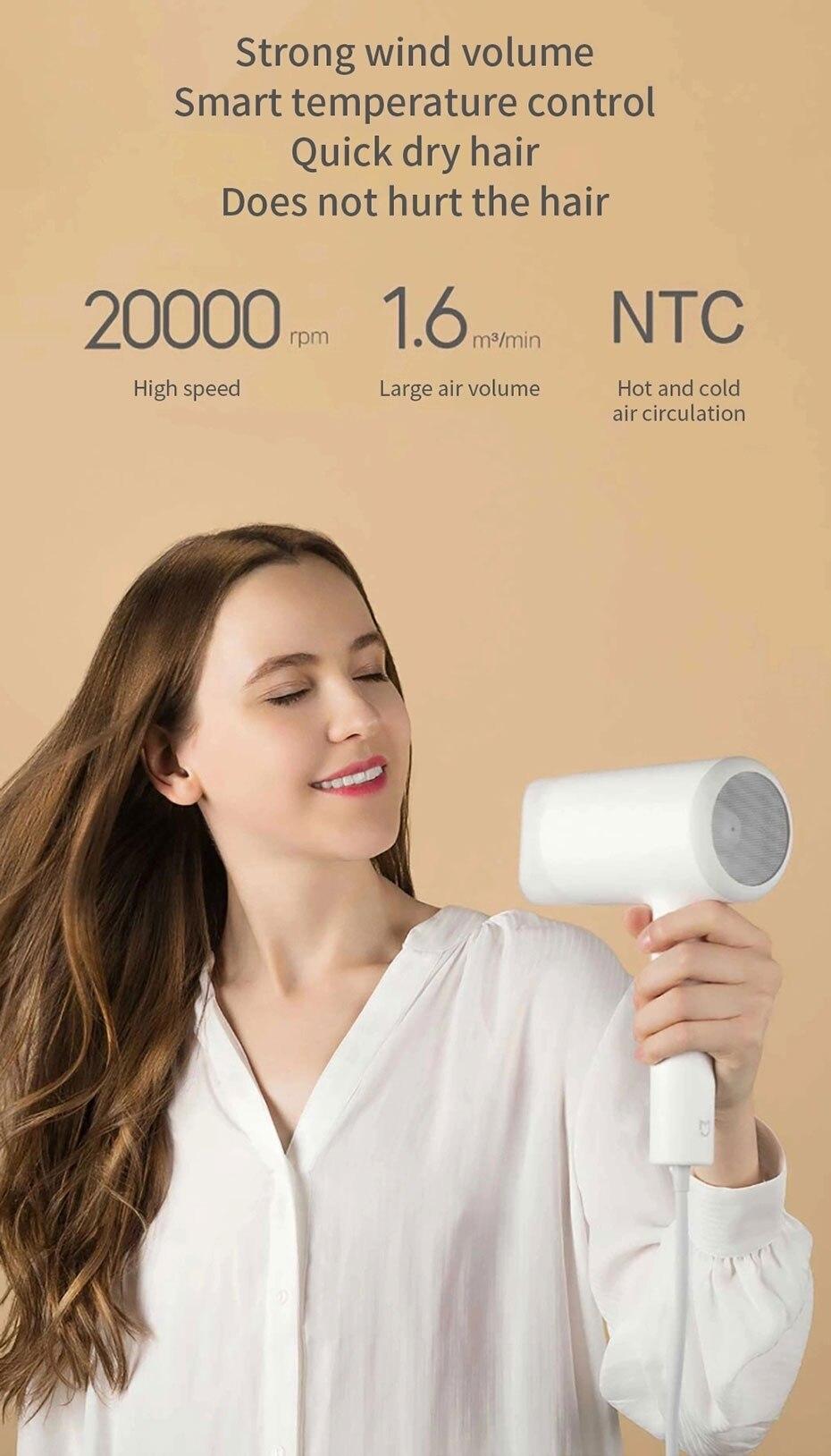 profissional secagem rápida portátil viagem difuso cabelo