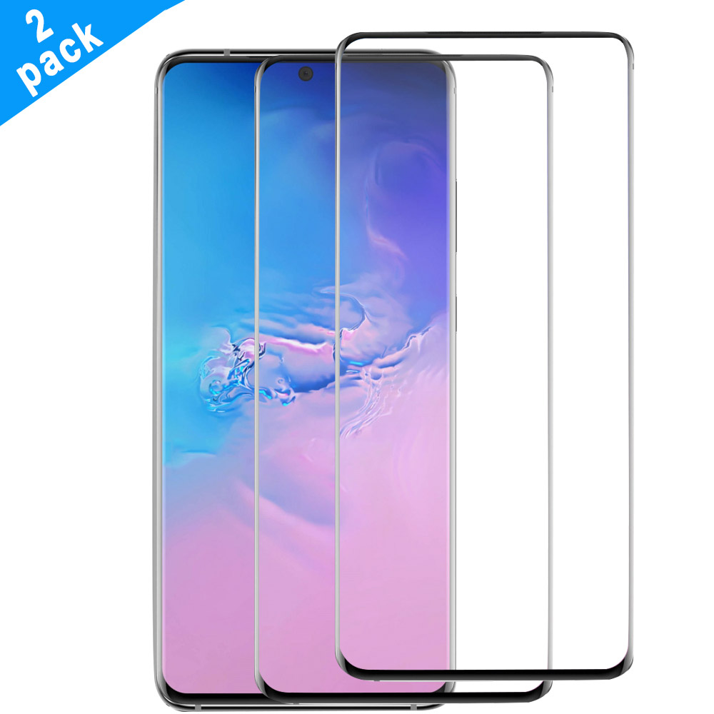 2 Pcs For Samsung Galaxy S20 S20 Ultra Tempered Glass Full Coverage Bubble Free Cover For Samsung S20 Plus Screen Protector