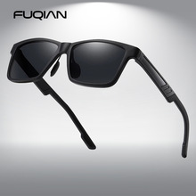 Driver's-Shades Sun-Glasses Square Uv-Protection Polarized Men Vintage Classic FUQIAN