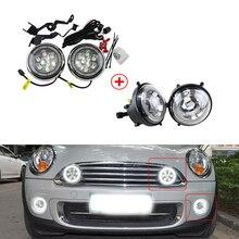Светодиодный передний бампер мини ралли свет W/DRL Halo для Mini Cooper R55 R57 R58 R60 R61 Countryman CANbus без ошибок авто свет