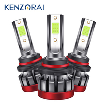 2X 3000LM лимонно-зеленый светодиодный туман светильник s H8 H11 h27 880 881 светодиодный противотуманный фонарь 5202 9005 HB3 9006 HB4 P13W Авто дневные ходовые о...