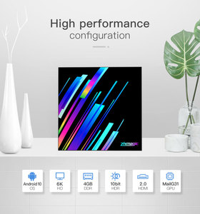 Image 3 - 2020 החדש אנדרואיד 10.0 טלוויזיה תיבת Allwinner H616 Quad Core 2GB 4GB 16GB 32GB Google מדיה נגן 6K חכם טלוויזיה תיבת Z3 +