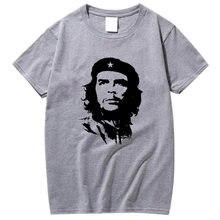 Gli uomini di alta qualità manica corta In Cotone 100% che guevara rivoluzione stampato t-shirt da uomo casual o-collo men'sT-shirt donna tee camicia