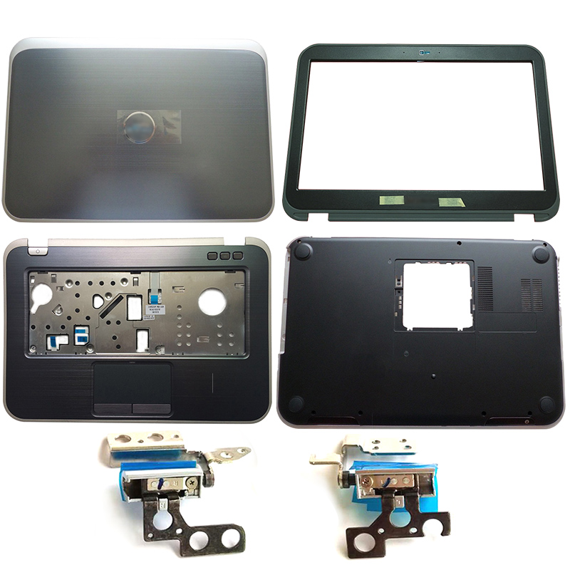 NEW Laptop LCD Back Cover/Front Bezel/Hinges/Palmrest/Bottom Case For DELL Inspiron 14Z 5423 05YN8X 0F6GPF 0TF7XT 0DJ3K8
