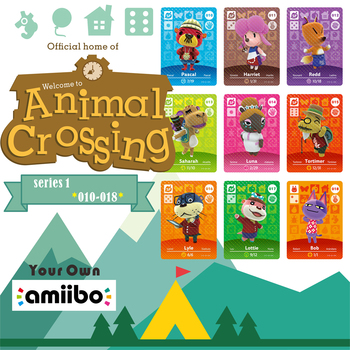 Nintend Amibo Amiibo Animal Crossing Switch Stickers Card Nintendo Amiibo Nfc Animal Crossing Nfc Ntag215 Series 1 1