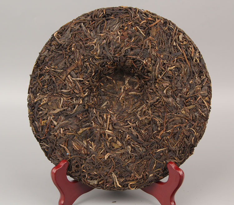 357g China Yunnan Raw Tea Old Tree Tea 357g Traditional Manual Pu'er Pure Material Green Food for Health Care 3