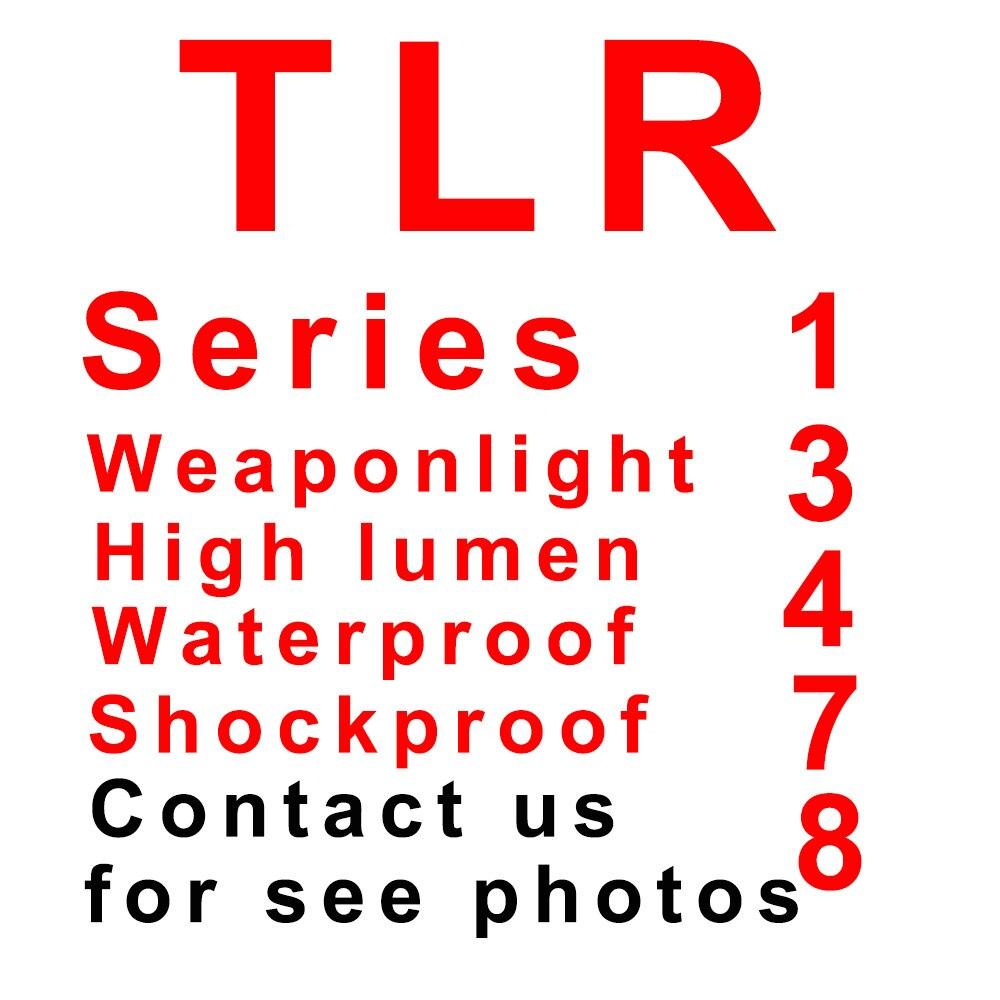 Тактический TLR полноразмерная светодиодный оружие светильник с Красный лазерный прицел для пистолета Охота Глок 1, 3, 4, 7, 8, 17 19 SIG CZ Лазерные ф...