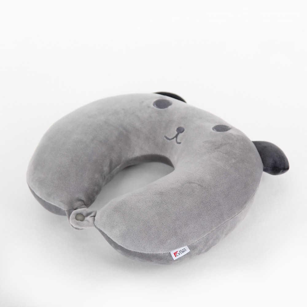 الكرتون القط دعم رئيس الراحة U شكل رغوة الذاكرة وسادة الرقبة U-شكل شكل مسند الرأس سيارة رحلة السفر لينة التمريض وسادة P58