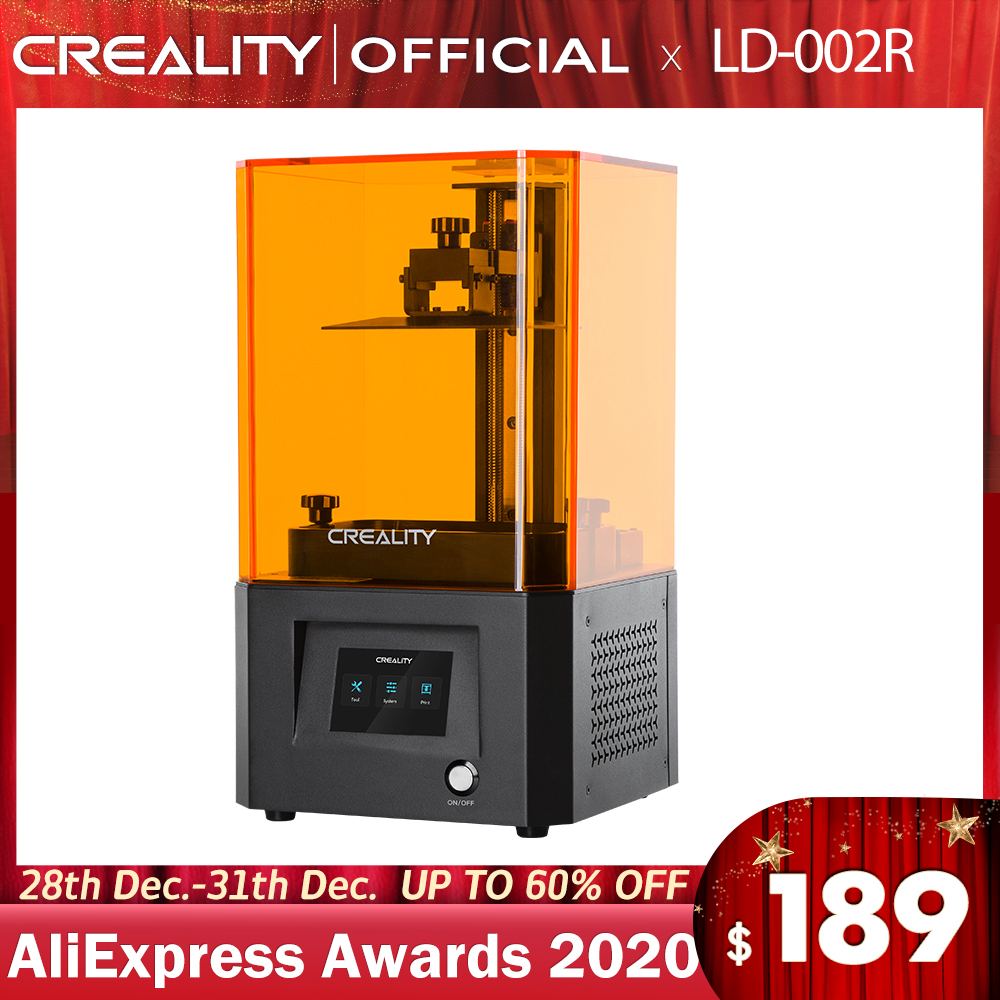 CREALITY 3D Printer LD 002R UV Resin 3D Printer LCD Photocuring Ball Linear Rails Air Filtration System Off line Printing|3D Printers| - AliExpress