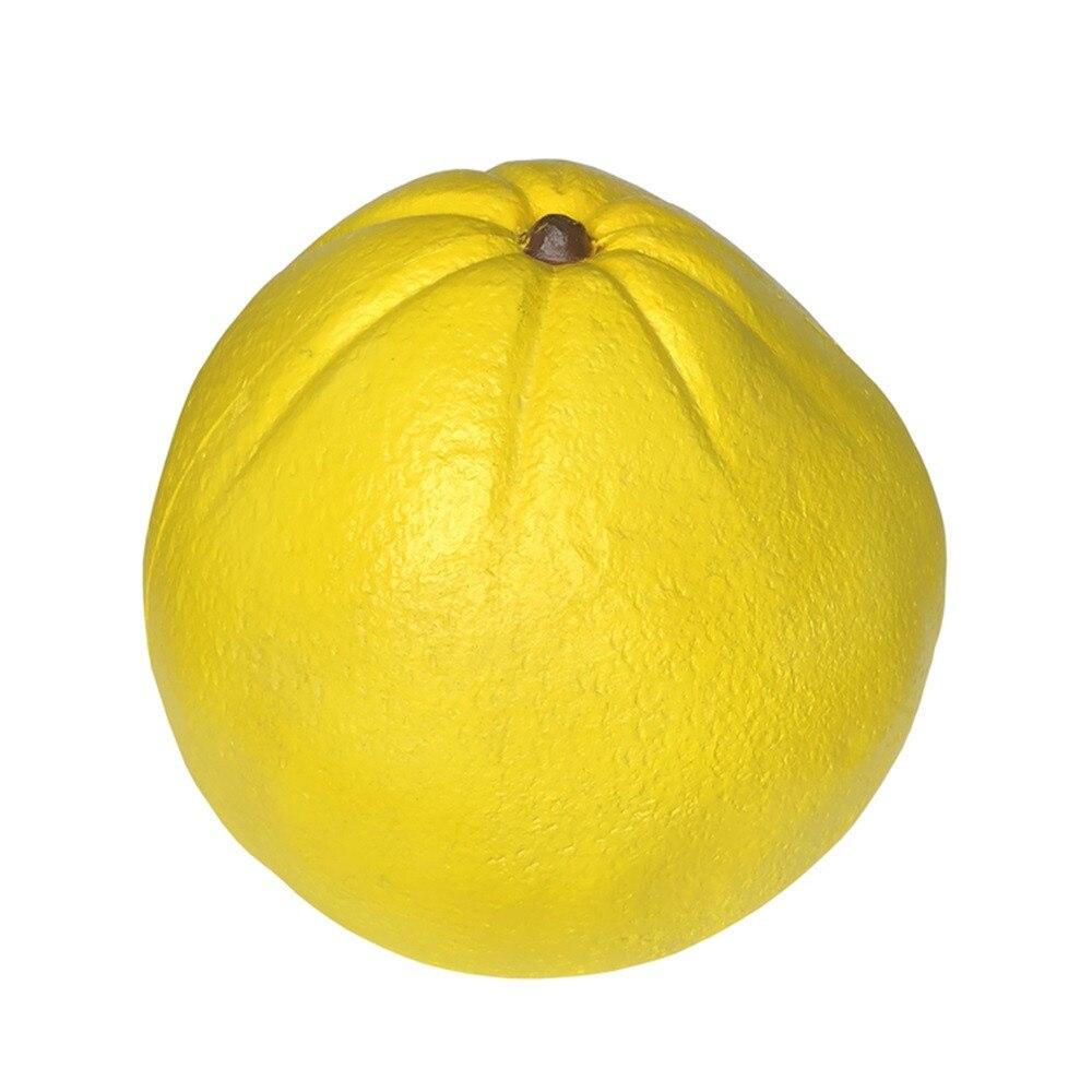 Giant Grapefruit Slow Rising Stress Relief Toy Simulation Fruit Decompression Slow Rebound Toy Finger Rehabilitation Training #E