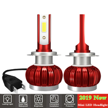 2Pcs H4 H7 LED Car Headlight Bulb H1 H11 HB3 9005 HB4 9006 Led Automobile Lights 9000LM 36W Auto Headlamps Kit 6000K Lamp Bulbs 2x mini size h1 h7 led h4 h11 hb3 hb4 9005 9006 led car headlight bulb 6000k 9000lm 36w auto lights 12v automobile fog lamp bulb