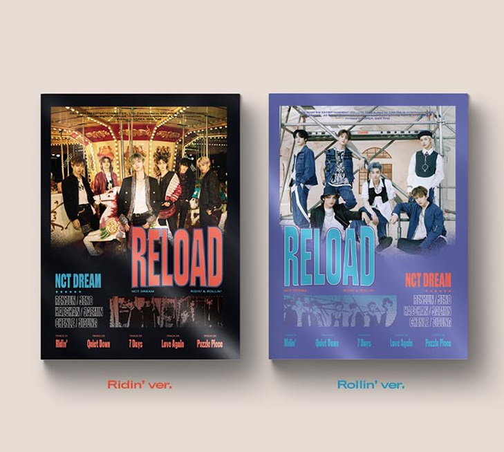 [MYKPOP]100% OFFICIAL ORIGINAL - NCT DREAM : Reload CD, KPOP Fans Collection - SA20051801
