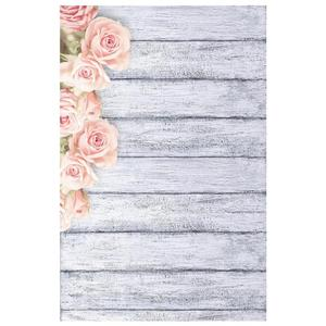 Image 1 - Photo Studio Wood Floor Printing Backdrops Romantic Floral Photography Studio Video Art Cloth Background for Camera Photo