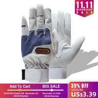 QIANGLEAF guanti Da Lavoro giardinaggio guanto nuovo design in microfibra guanti di sicurezza guanti di sport di vendita calda 6470