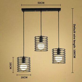 Zwarte Retro Industriële Hanglampen  3