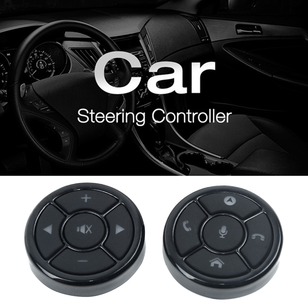 Accessories Steering Wheel Button Receiver Box Interior Wireless Car Remote Control