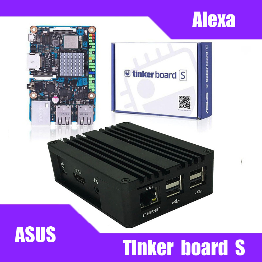 Tinker Board/Tinker Board S Case Aluminum Case For ASUS SBC