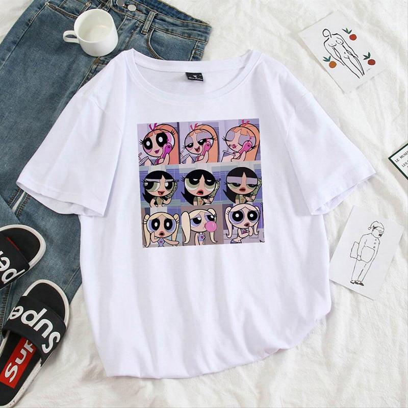 Summer-casual-Women-T-shirts-Ulzzang-Streetwear-kawaii-cartoon-print-Tshirt-Korean-Style-Tops-Harajuku-short (3)