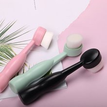 Face Cleansing Brush Soft Silicone Facial Deep Pore Cleaning Household Skin Care Tool