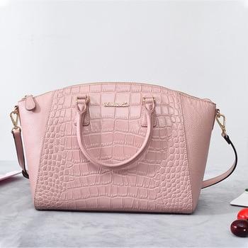2019 Autumn and Winter New Fashion Handbag Creative Shoulder Messenger Bag Temperament Simple PU Handbags Women Bag