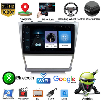 For Toyota Camry Classic 2009-2012 Navigation 2 din Car Radio 10 HD Autoradio Multimedia Player Touch Screen Auto audio 1+16G image