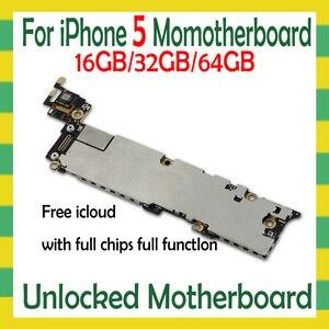 Image 3 - Sbloccato originale per iphone 5 5C 5s 5SE SE scheda madre, smontare per iphone 5 5g scheda logica con sistema IOS