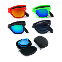 2020 Folding Sunglasses Sun Glasses Fold Exempt Postage Sports Glasses Wayfarer Sports Eyewear (without Case)
