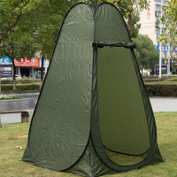 Toilet tent Portable Privacy Shower Toilet Camping Pop Up Tent Camouflage UV function outdoor dressing tent