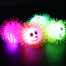 цена на Decompression Anti Stress Flash Ball Light Stars Shine In The Dark Kids Toy Flash Glowing Toys LED Glow In The Dark Toys Child E