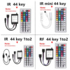 RGB LED Strip Light  2835   5050 SMD Flexible Ribbon fita led light strip RGB 5M 10M Tape Diode DC 12V Remote Control Adapter promo