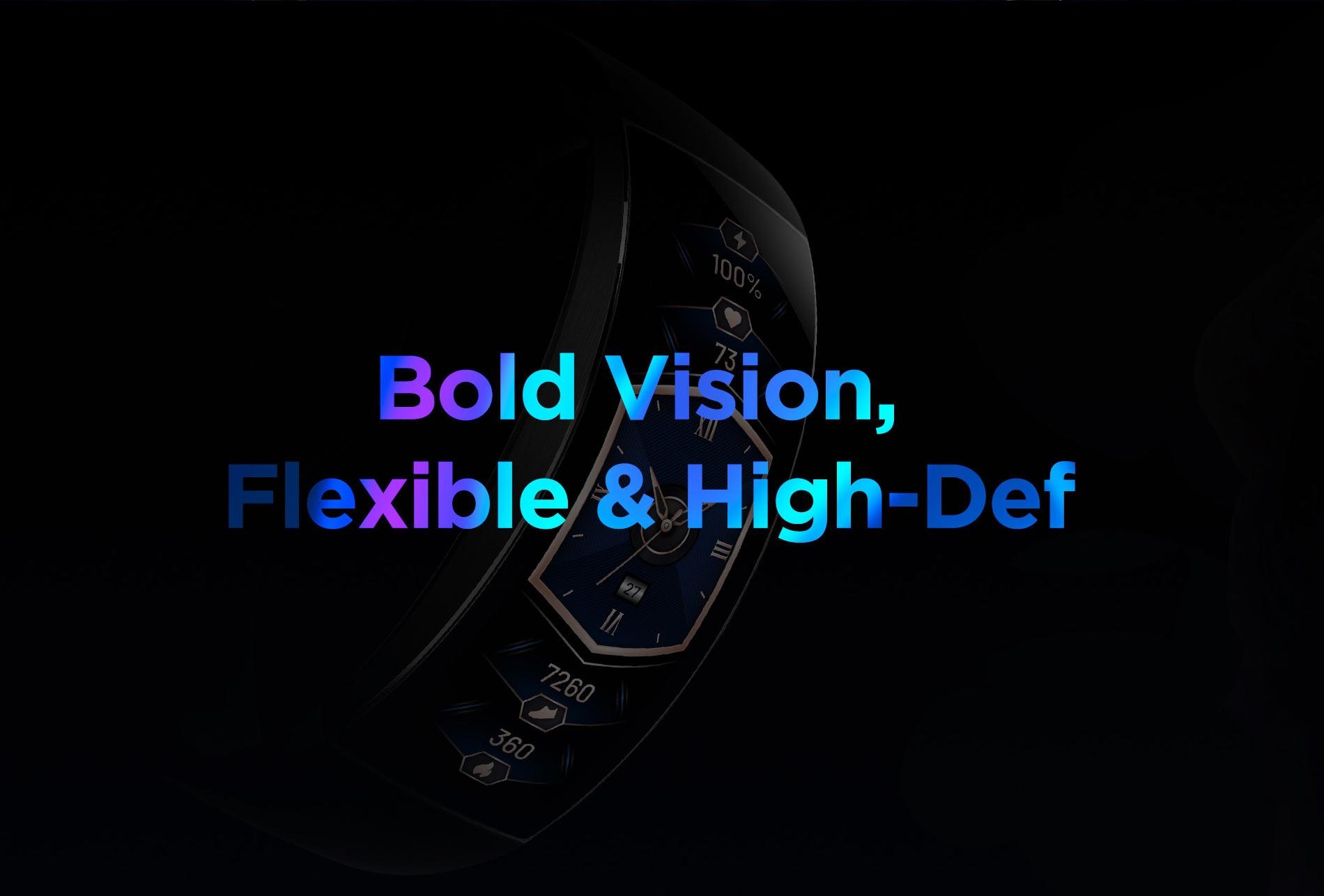 Amazfit X Curved Smartwatch 11