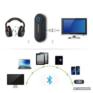 Image 5 - Kebidu 블루투스 송신기 3.5MM 잭 오디오 어댑터 무선 블루투스 스테레오 오디오 송신기 어댑터 PC TV 헤드폰