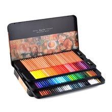 Marco Renoir – ensemble de Crayons de couleur professionnels, 6/24/36/48/72/100 couleurs, pour dessin