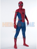 Spiderman Homecoming Costume 3D Print Spandex Movie TRAILER VERSION Spiderman Cosplay Costume Halloween Costume for Adult Kids