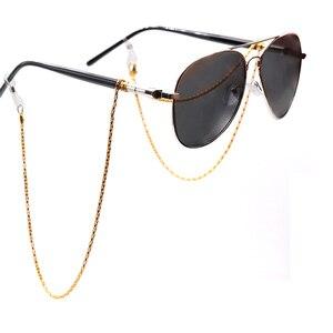 Image 2 - Colour_Max cadena para anteojos para mujer, gafas de lectura, soporte para lentes, cordones de correa, retenedor de gafas para mujer