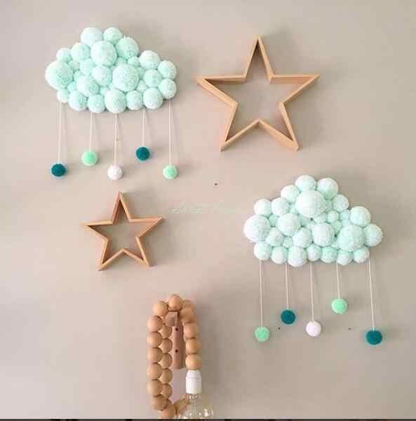 Krótka koralowa aksamitna piłka do włosów noworodka łóżeczko dla dziecka dekoracja pokoju dziecięcego pościel fotografia rekwizyty dekoracja sypialni dziecięcej zabawki pacyfikujące