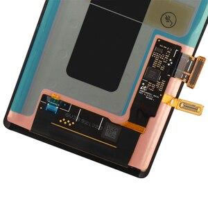 Image 5 - ORIGINALE 6.4 AMOLED Display con cornice per il SAMSUNG Galaxy Note 9 Note9 N960D N960F A CRISTALLI LIQUIDI di Tocco Digitale Dello Schermo di Ricambio parte