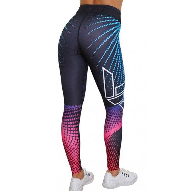 3D Print Pants Skinny Workout Sport Wear 4