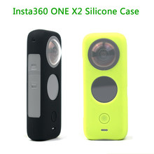Insta360 ONE X2 Silicone Case Protective Cover Sleeve Case for Insta 360 ONE X2 Accessories