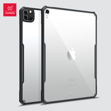 XUNDD De Protection Coque Pour iPad Pro 11 12.9 Air4 Air3 10.2 10.5 10.9 pouces Mini 4 5 Transparent Airbag Antichoc