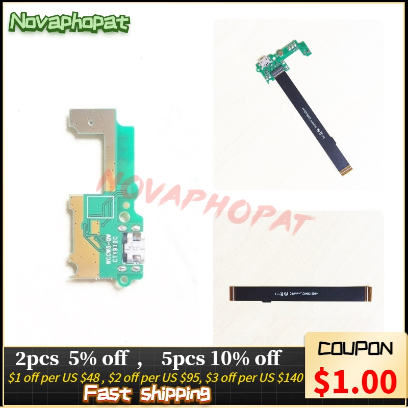 Novaphopat Charger Port For Huawei Honor 4c Pro 4cpro TIT-L01 USB Dock Charging Port Board Main Connect Mainboard Flex Cable